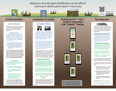 BumbleApps(tm) Poster for CitSci2015 (February 2015)
