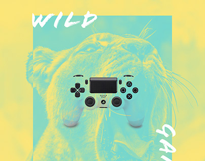 PLAYSTATION 4 | Wild Game | Print Advertising