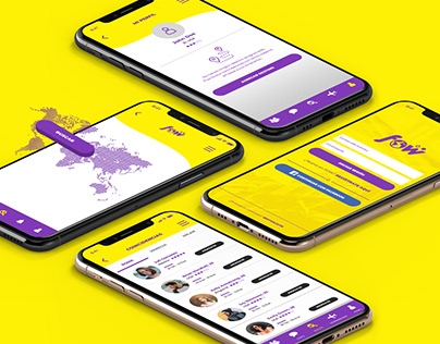 FOW - Travel app & branding