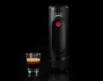 Xsprofix Animation - Portable Espresso Machine