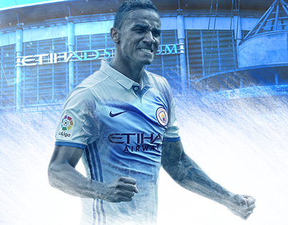 Poster - transfer Danilo to Manchester City