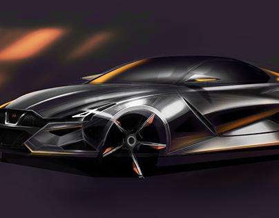 Nissan GTR R36 Concept Sketch
