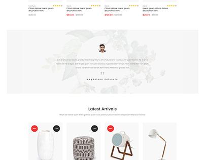 Eposi – Furniture Shop HTML Template