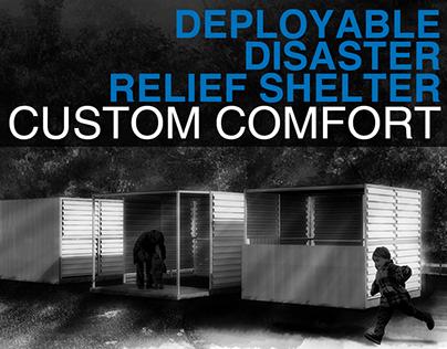 Custom Comfort: Deployable Disaster Relief Shelter
