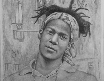 Portrait of Artist Jean-Michel Basquiat
