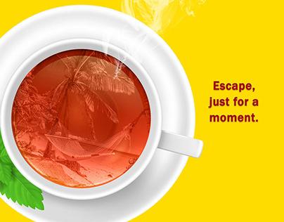 LIPTON TEA AD CAMPAIGN