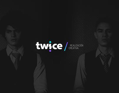 Twice | Branding + Website