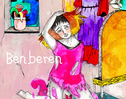 """Benberen""- Book cover for a novel"