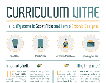 Curriculum Vitae // Updated Version