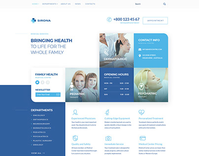 Sirona | Medical & Health WP Theme