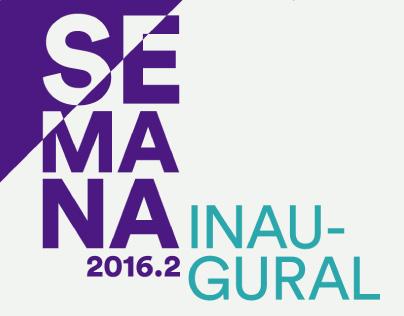 Semana Inaugural 2016.2