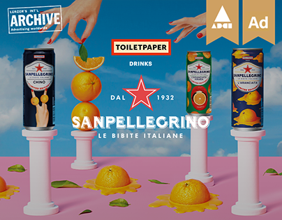TOILETPAPER x Bibite Sanpellegrino [We Are Social]