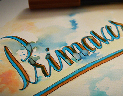 Hand-Lettering Tests