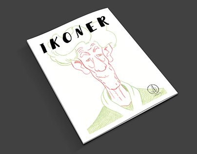 Ikoner, Exhibition catalogue cover