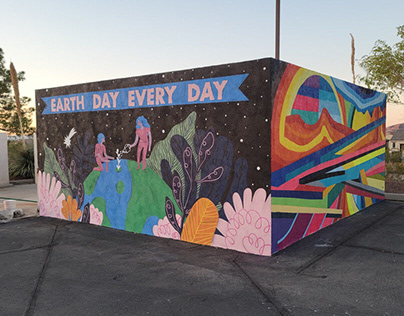 Nevada State College Sustainability Mural