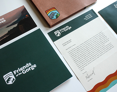 Friends of the Gorge Branding