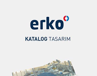 Erko.az Katalog Tasarımı