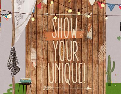 show your unique