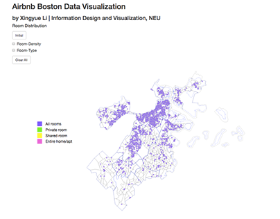 Airbnb Boston Data Visualization—using D3.js