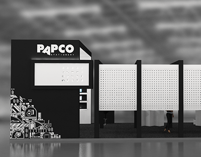 Exhibition stand - Papco Stationery - 2020