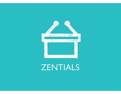 Zentials - Branding & UI-UX