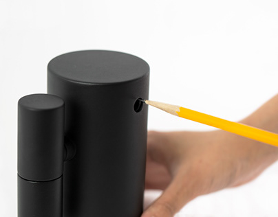 Dustproof electric pencil sharpener