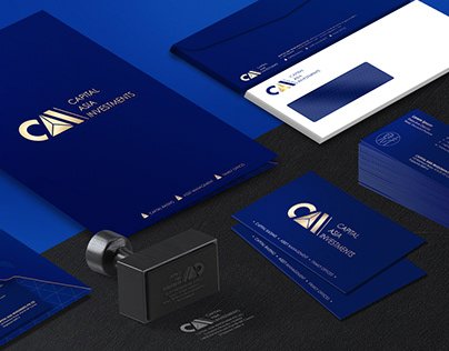 Brand Identity and Web Design – Capital Asia Investment