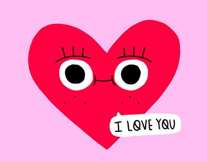 Valentine's Ig Stickers