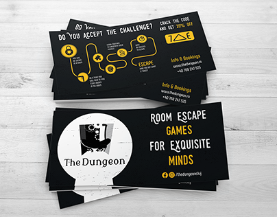 Room Escape Game Visual Identity Redesign