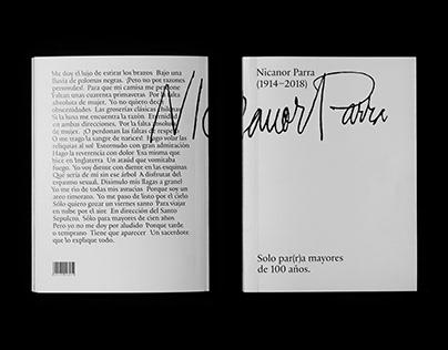 Nicanor Parra. Solo pa(r)ra mayores de 100 años.