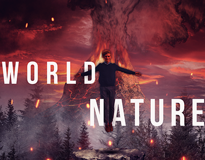 WORLD NATURE-POSTER-MANIPULATION
