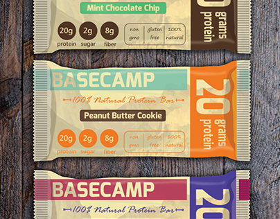 Basecamp Natural Protein Bar