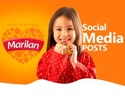 Social Media Posts - Marilan Alimentos