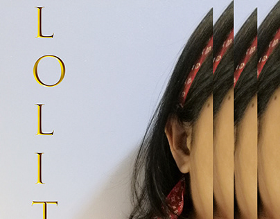 Re-designed Lolita Book cover.