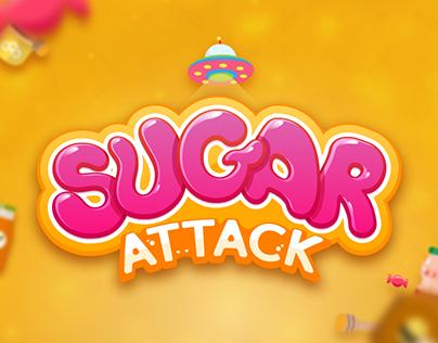 Sugar Attack | Game App UI