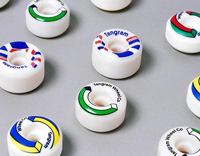 Creative direction for Tangram Wheel Co