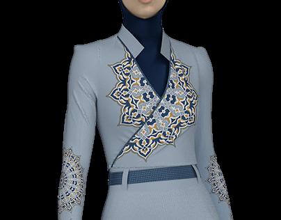 WARP DRESS -3d fashion