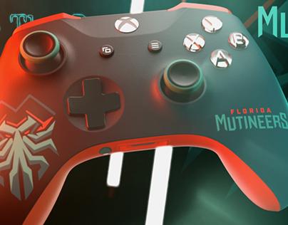 Xbox Controller Concept Florida Mutineers