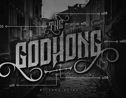 FREE | Godhong Typeface