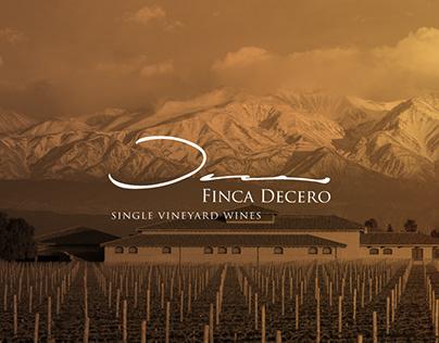 Finca Decero Website
