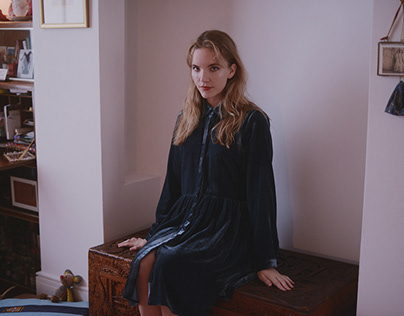 actress Tamzin Merchant at hers