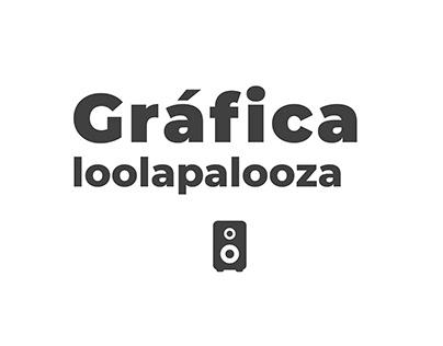 Proyecto Line-up Lollapalooza