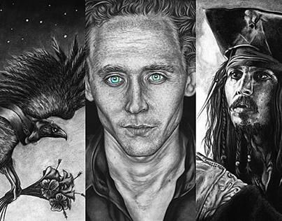 2012-2014: Selected Drawings & Paintings