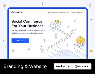 Bankex. Branding & Website