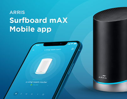 Arris Surfboard mAX Mobile App
