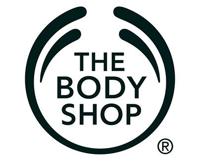 Body Shop - Home Page UI UX