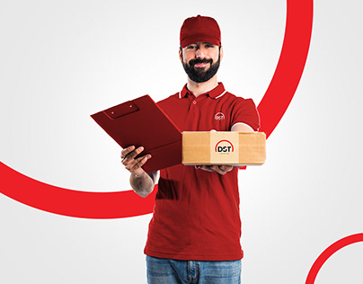 DST Courier Branding