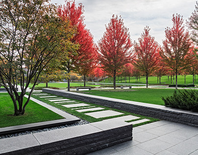 Lakewood Mausoleum - Landscape Architecture Photography