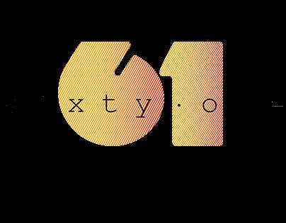 sixty · one