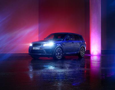 Range Rover Sport Neon